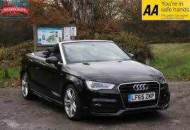 audi convertible 2016 used audi a3 s line convertible cars for sale motors co uk
