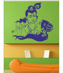 65 off on wall1ders radhe krishna blue wall stickers on snapdeal wall1ders radhe krishna blue wall stickers