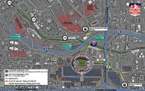 Arrowhead Stadium Map Denver Broncos Tickets Parking And Information 303tickets Com