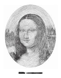 crazy spiral drawings of famous works of art u2013 flavorwire