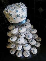blue white u0026 silver wedding cake top cake white chocola u2026 flickr