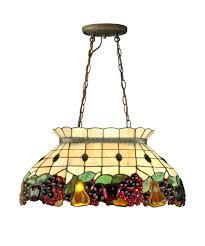 dale tiffany 3207 2ltg fruit 24 inch wide billiard light capitol