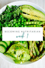 becoming nutritarian week 1 hello nutritarian