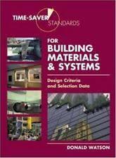 Time Saver Standards For Interior Design Time Saver Standards Books Ebay