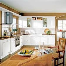 cuisine rustique blanche modele de cuisine rustique 12 cuisine blanche et bois le mariage