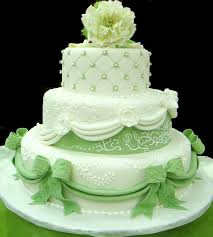 wedding cake green green wedding cake on green theme wedding idea pages home