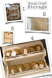 craft storage idea inspired by yogurt country design style