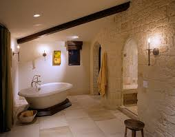 Mediterranean Bathroom 30 Exquisite And Inspired Bathrooms With Stone Walls