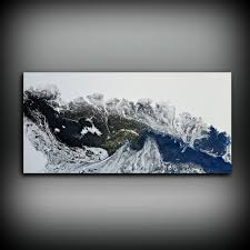 black and white painting ideas black and white painting 24 x 48 acrylic painting canvas art