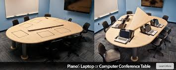 Conference Table With Chairs Conference Room Tables And Computer Conference Tables Smartdesks