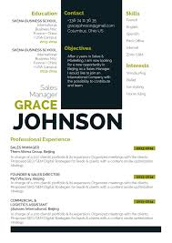 Openoffice Resume Templates Business Resume Template Noble Resume Mycvfactory