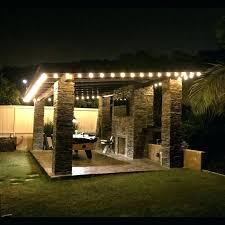 Outdoor Hanging String Lights Hanging String Lights In Backyard Medium Size Of Home Lighting