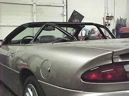 1969 camaro roll cage convertible roll bar install f camaro firebird trans am