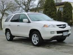 acura jeep 2005 white 2004 acura mdx right front car picture old and new car pics