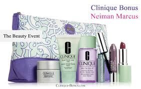 neiman marcus beauty event clinique gift with 65 purchase free
