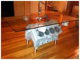 How To Make An Engine Block Coffee Table - top gear coffee table harley designs