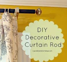 Diy Curtain Rod Finials 22 Best Finial Ideas For Curtain Rods Images On Pinterest Diy