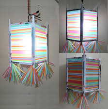Paper Craft Home Decor Paper Crafts Home Decorations 3d Multicolored Lamp Shade