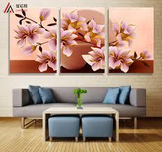 online get cheap vintage decorative canvas paintings flower
