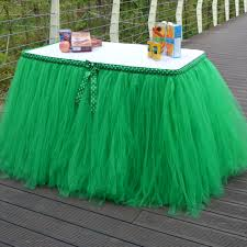 Pleated Table Covers Online Get Cheap Tulle Table Skirt Aliexpress Com Alibaba Group