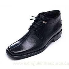 s leather dress boots canada epicstep s black leather dress formal casual shoes zip ankle