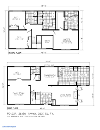 modern two story house plans small floor plans best of modern 2 story house plan simple two l