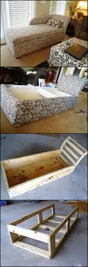 Diy Chaise Lounge Sofa 35 Cool Diy Sofas And Couches Storage Space