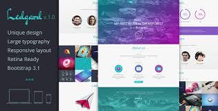 landing page templates for blogger ledgard clean responsive landing page blog by le genda themeforest