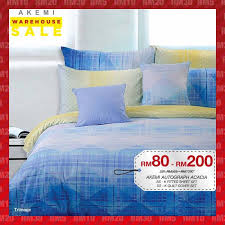 Akemi Bed Linen - warehouse sale as low as rm5
