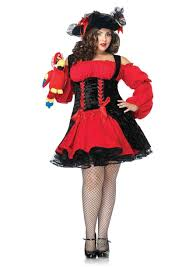 plus size costumes for women black vixen pirate wench plus size costume