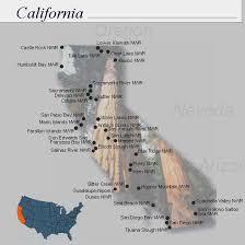 California wildlife images Nwrs refuge locator map california jpg