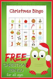printable christmas bingo cards pictures free printable christmas bingo cards fun for everyone