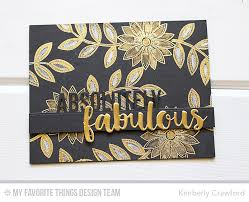 4 The Love Of Go L D by For The Love Of Paper Absolutely Fabulous Mft Stamps June