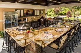 kitchen cabinet countertop ideas best outdoor kitchen countertop ideas and materials