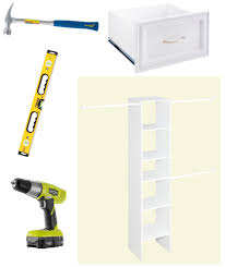 Diy Build Shelves In Closet by How To Build A Closet To Give You More Storage The Home Depot