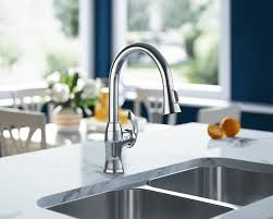 bisque kitchen faucets 772 c chrome pull kitchen faucet