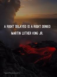 mlk quote justice delayed humanity u2013 failure to listen