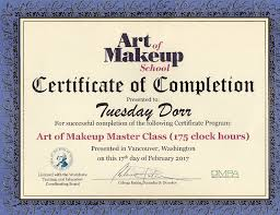 makeup artistry certification fundraiser by tuesday makeup artistry school
