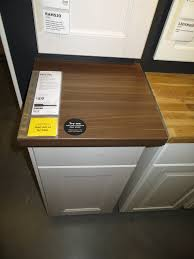 ikea pragel wood countertop remodel pinterest countertop