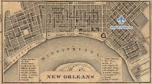 Google Map New Orleans by Location Elysian Fields Inn