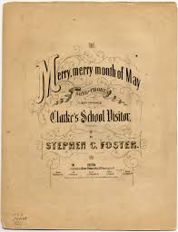 the merry merry month of may song and chorus library of congress
