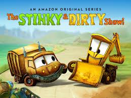 amazon com the stinky u0026 dirty show season 1 ethan wacker