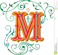 beautiful ornament letter c royalty free stock image image