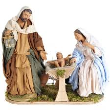 nativity sets animated nativity traditional manger set 24 cm online