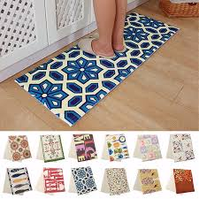 Bathroom Floor Mats Rugs Non Slip Kitchen Home Bedroom Bath Floor Mat 120x45cm Cushion Anti