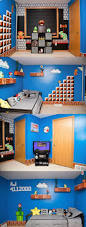 super mario room decorating accessories brothers bedroom largesize