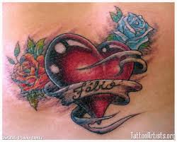 heart tattoo designs with names tattoos book 65 000 tattoos