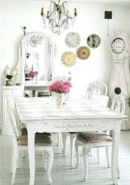 shabby chic dining table shabby chic dining room table ideas modern furniture living sha