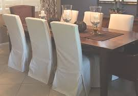 Slip Covers For Dining Room Chairs Parson Chair Slipcovers To Complete The Dining Room Chairs