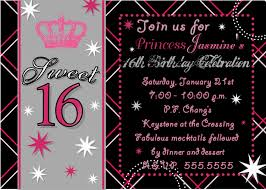 21 Birthday Invitation Cards Invitation Design For Sweet Sixteen Birthday Decorating Of Party
